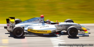 Bruno Mendez - FR 3.5 Brno 2010 - Using Panning Technique in Motorsports