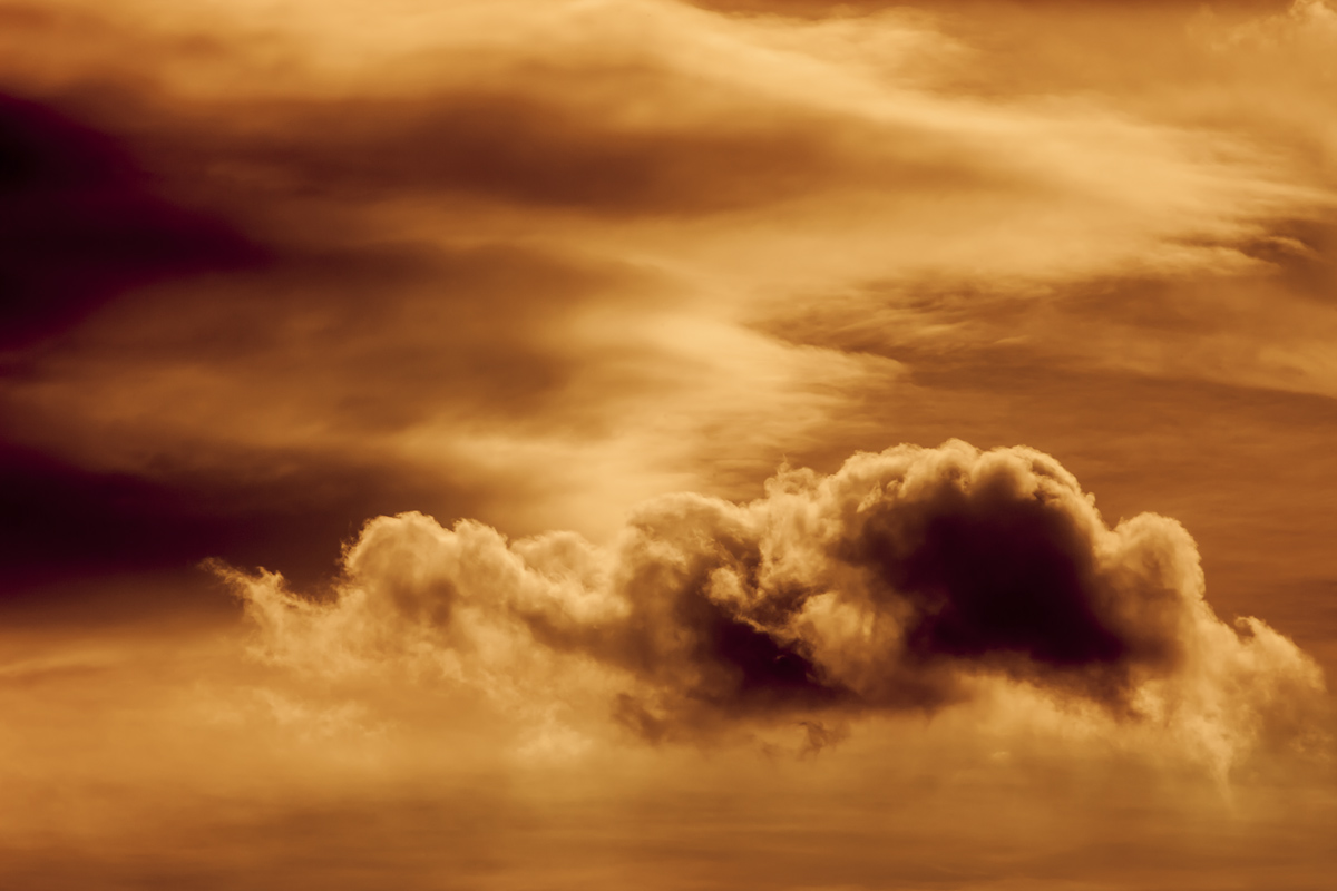 Golden Clouds Fine Art
