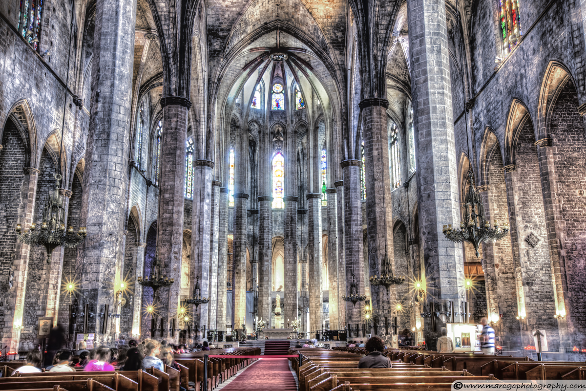 Basilica Santa Maria del Mar (Cathedral of the sea)