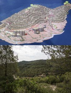 Vall del Flequer (Before & Today)