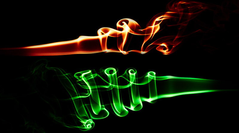 smoke trails photography tutorial example