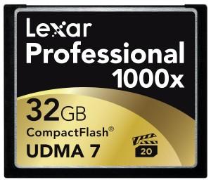 LEXAR MEDIA Professional 32GB CompactFlash Card