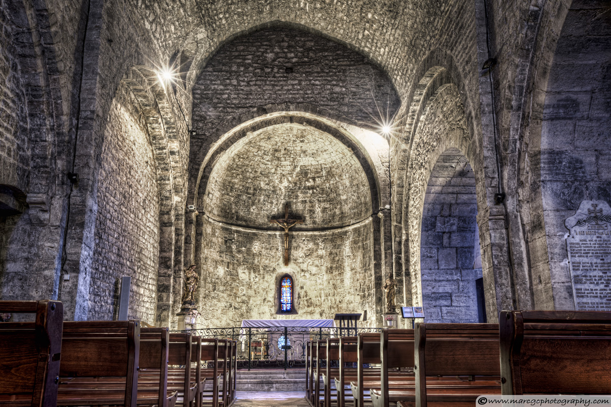 Le Castellet Church (France)