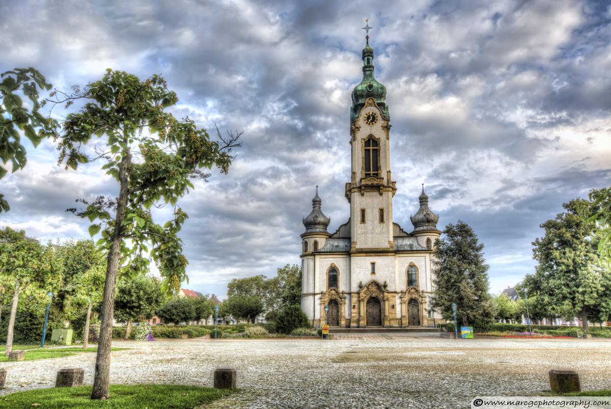 Protestant Church Hockenheim (Germany)
