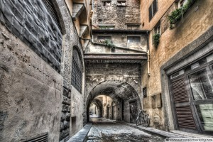 Narrow Streets in Florence (Italy)