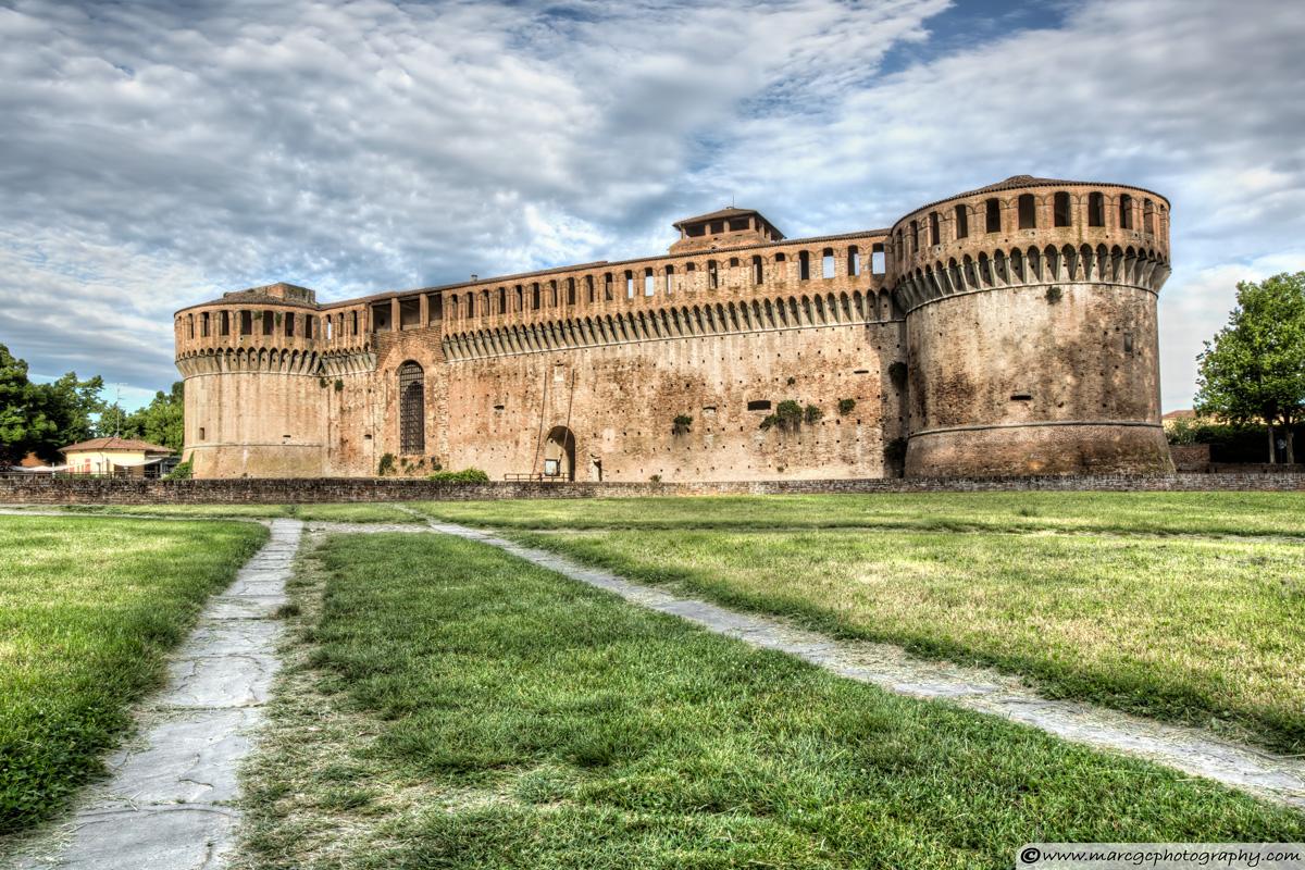 The Rocca Sforzesca of Imola (Italy)