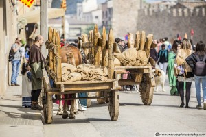 Old Wagons - Montblanc Medieval Festival 2015