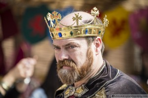 The King - Montblanc Medieval Festival 2015