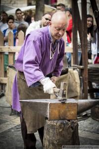 Blacksmith - Montblanc Medieval Festival 2015