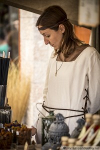 Essences and Incense Merchant - Montblanc Medieval Festival 2015