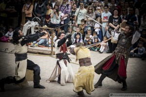knights Fight - Montblanc Medieval Festival 2015