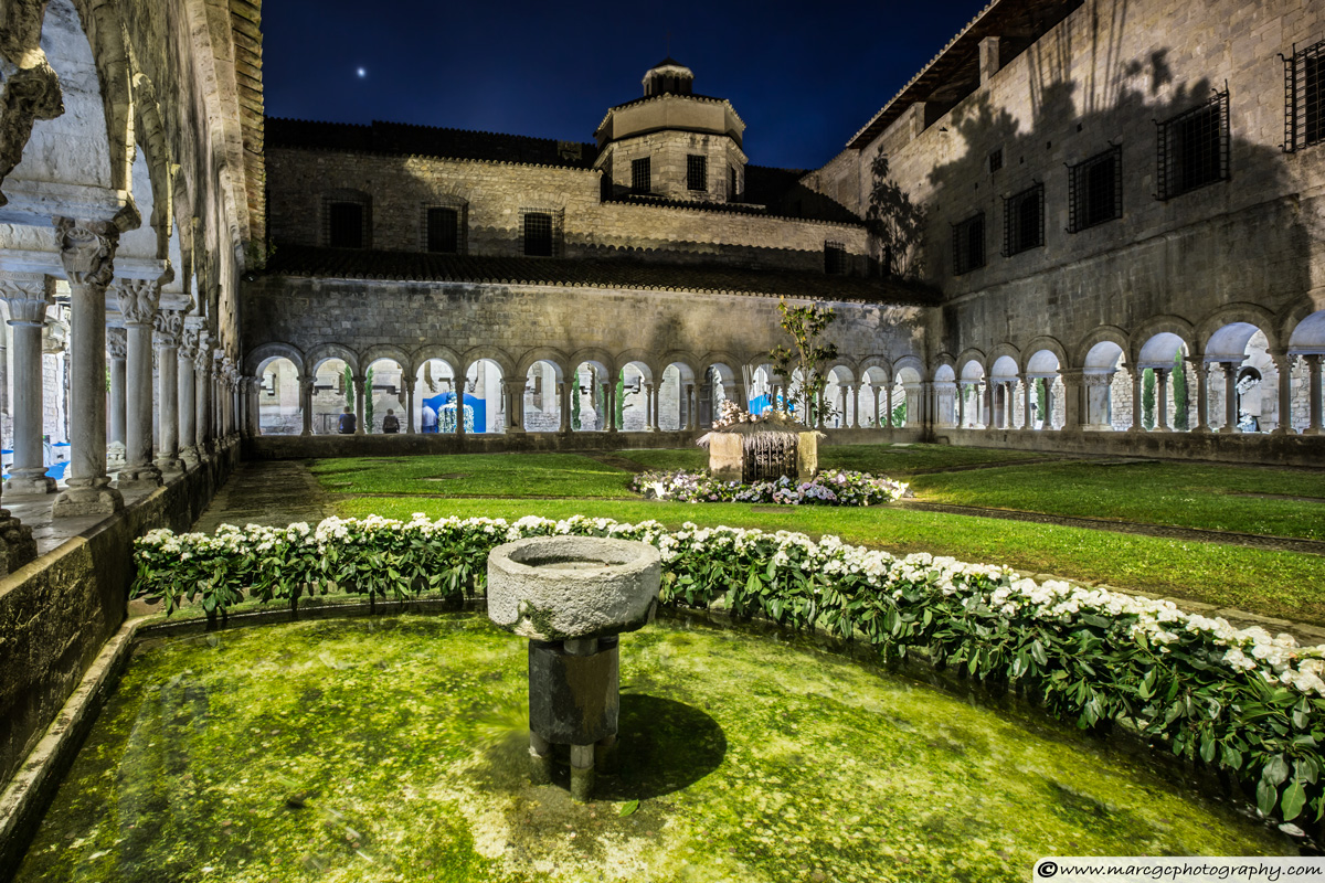 Girona Cathedral Cloisters (Catalonia)