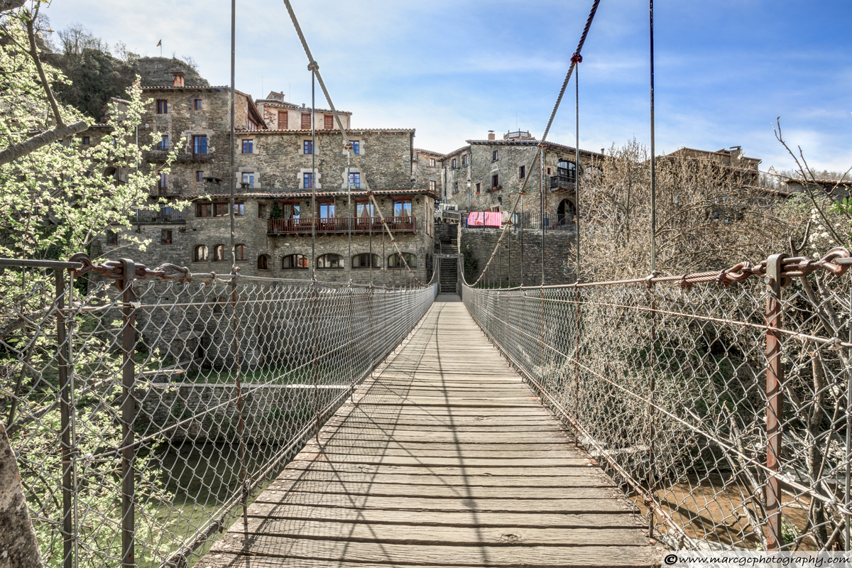 Rupit's Hanging Bridge (Catalonia)