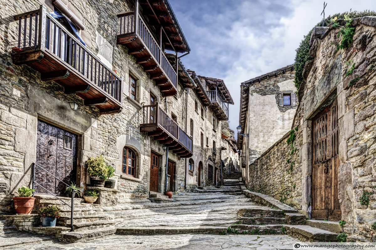Rupit's Natural Stone Street (Catalonia)