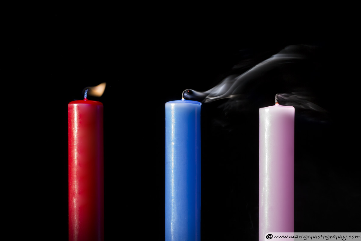 Candle Smoke Example