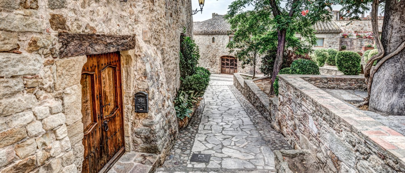 Medieval Town of Pals (Catalonia)